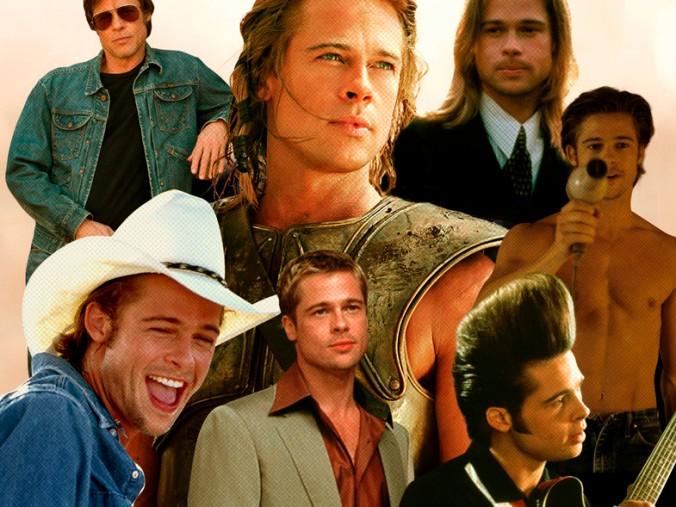 Brad Pitt filmografía
